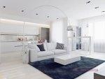 ديكورات بيضاء للمنزل مودرن 2016 ديكور المنزلي النقي