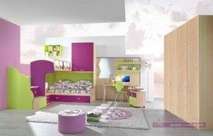 احدث ديكور غرف اطفال2016 1 450x286 300x191 غرف نوم اطفال 2016 بديكورات جميلة  بالوان طفولية وبلمسه جذابة