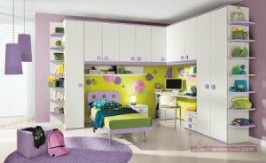 اشكال والوان ديكورات لغرف الاطفال 1 450x276 300x184 غرف نوم اطفال 2016 بديكورات جميلة  بالوان طفولية وبلمسه جذابة