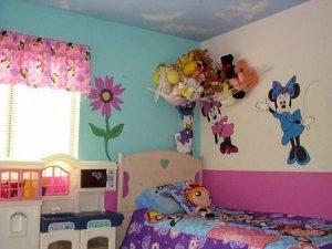 اشكال والوان ديكورات لغرف الاطفال 4 450x338 300x225 غرف نوم اطفال 2016 بديكورات جميلة  بالوان طفولية وبلمسه جذابة