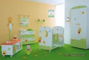 حوائط غرف اطفال2016 2 450x303 300x202 غرف نوم اطفال 2016 بديكورات جميلة  بالوان طفولية وبلمسه جذابة