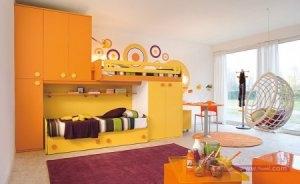 صور غرف نوم اطفال2016 2 450x276 300x184 غرف نوم اطفال 2016 بديكورات جميلة  بالوان طفولية وبلمسه جذابة