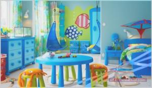 غرفة اطفال2016 1 450x259 300x173 غرف نوم اطفال 2016 بديكورات جميلة  بالوان طفولية وبلمسه جذابة