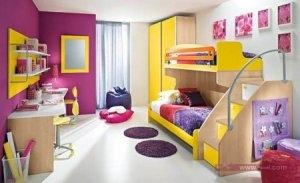 غرفة اطفال2016 2 450x275 300x183 غرف نوم اطفال 2016 بديكورات جميلة  بالوان طفولية وبلمسه جذابة