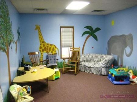 غرف اطفال 1 1 450x335 غرف نوم اطفال 2016 بديكورات جميلة  بالوان طفولية وبلمسه جذابة