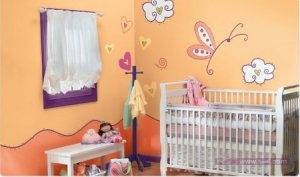 غرف اطفال 1 450x266 300x177 غرف نوم اطفال 2016 بديكورات جميلة  بالوان طفولية وبلمسه جذابة