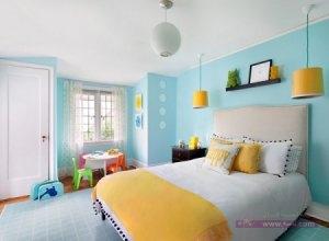 غرف اطفال2016 جميلة 2 450x330 300x220 غرف نوم اطفال 2016 بديكورات جميلة  بالوان طفولية وبلمسه جذابة