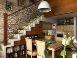 استغلال مساحة تحت الدرج  أفكار مبتكرة لتخزين أسفل درج المنزل