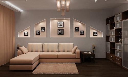 أفكار جديدة لديكور الجدران الداخلية الجبس مجلة لمسة الفنية جبسيات