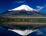 صور للجبال والثلج يكسو القمم وصور لشروق الشمس