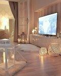 جبسيات مغربي للحائط  للجدران روعه باشكال مكاتب وللشاشة التلفزيون واقواس ممرات