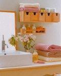 أفكار و حلول لترتيب و تنظيم الحمامات الصغيرة بالصور