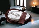 سحر السرير المستدير لغرفة نوم عصرية