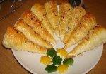 """أوراك الدجاج بالثوم والزنجبيل مع شوربة البطاطس الرائعة وحلى البغرير الجميلة""""521"""