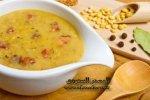 حساء العدس على الطريقة التركية