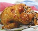 الدجاج المحشي بالارز… وصفات رمضانية شهية