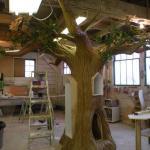 افكار جمالية بديعة جدا ومفيدة للاشجار اضافت جمالا فوق جمالها
