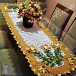 مفارش طاولات من  الصوف