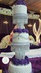 مجموعة صور كيكات زفاف  رقة وأناقة