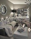 الأريكة على حرف L  من التصميمات التي تستغل المساحة بشكل جيد في غرف المعيشة