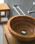 تصميمات غير تقليدية للأحواض الخشبية