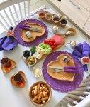 افكار في ترتيب وتزيين وجبة الافطار