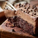 طريقة عمل كيك موس الشوكولاتة