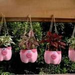 ديكورات روعه وجميلة لتزين حديقة المنزل ومدحل المنزل