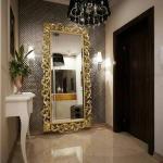 تصميمات لـ المرآة في مدخل البيت