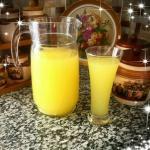 عصير  برتقال وليمون لشهر رمضان