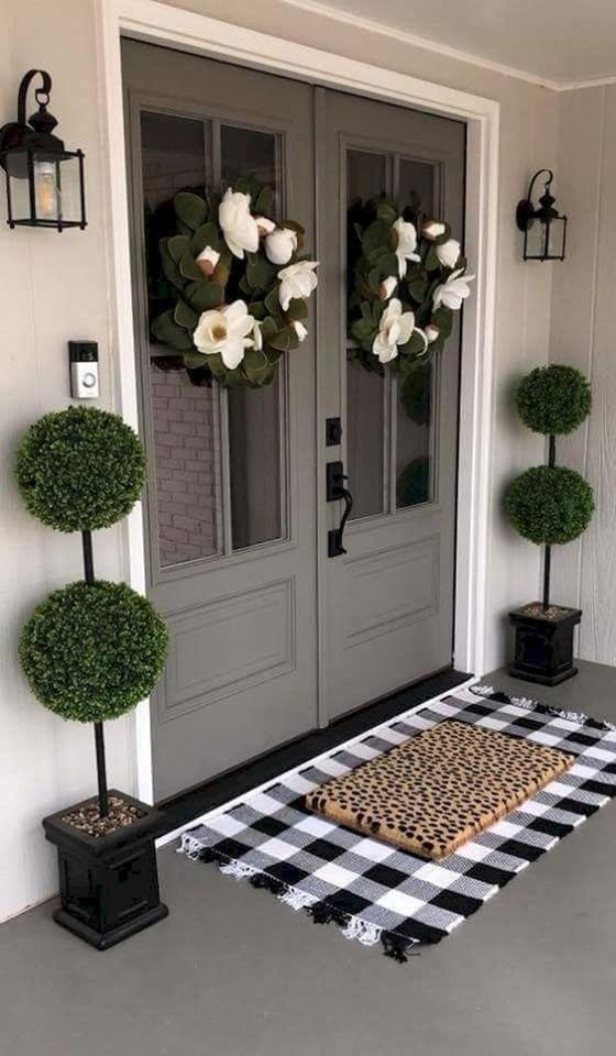 افكار ابداعية لتزيين مدخل البيت