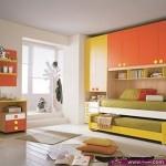 غرف نوم الوان جذابة للشباب والصبايا موضة 2014