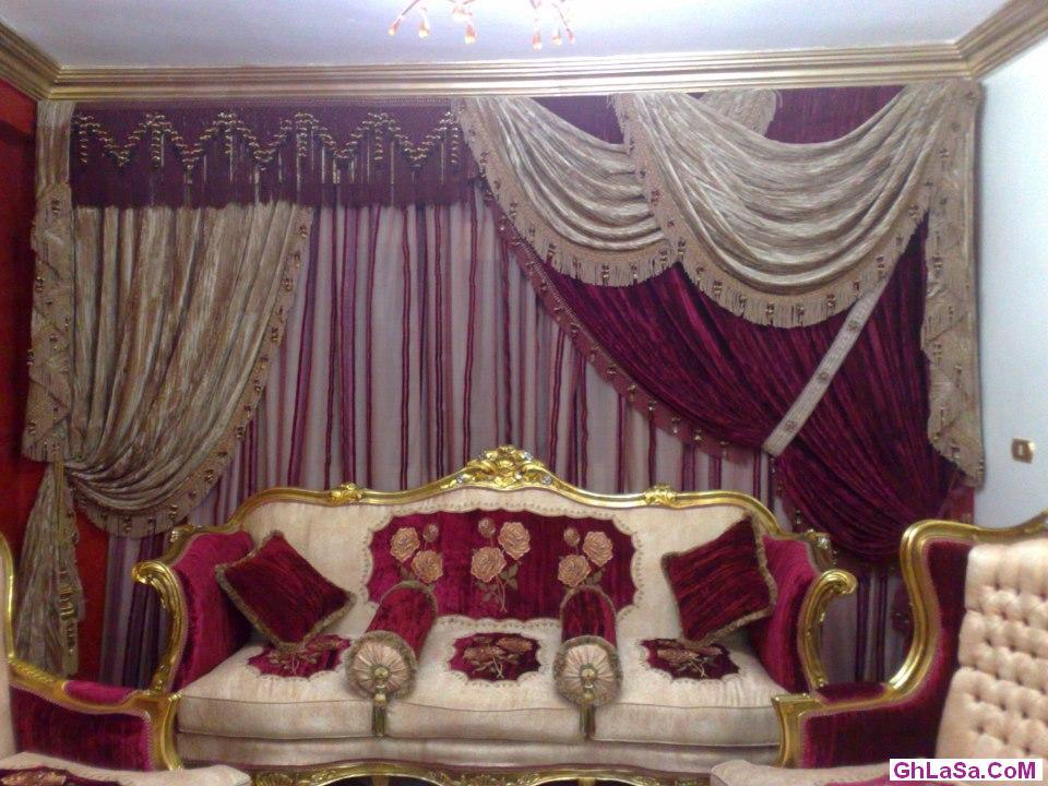 ستائر غرف النوم للعرائس 2015 from www.lamsahfannan.com
