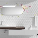 ديكورات جديدة 2015 سيراميك مختلف للحمامات Bathroom decoration ideas 2015