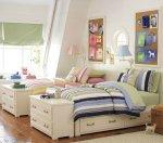 غرف نوم اطفال ثنائيه