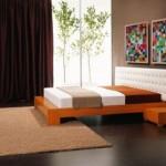 ديكورات غرف نوم بسيطة بتصاميم عصرية أنيقة وهادئة 2014