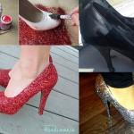 أفكار مذهلة   اشغال يدوية أفكار لتغير الحذاء القديم