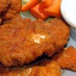 قطع الدجاج المقرمشة