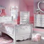 غرف نوم رومانسية 2014 بالوان البنفسجي