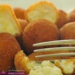 طريقة عمل كُرات الجبن بحشو الدجاج للشيف أسامة السيد