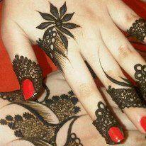7e6b6f3a801dc9e0af14616e1461b4b7 نقش حناء خليجي بحريني انيق جدا للعروس وللعيد نقوش حناء بسيطة 2014