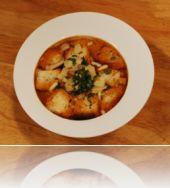 889 tomato soup with crispy bread introduction of fatafeat شوربة البندورة مع الخبز المقرمش  قناة فتافيت