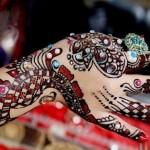 Beautiful Eid ul fiter hand Mehndi Designs 2012 2013 150x150 اجمل نقش للعروس مرة روعه 2014
