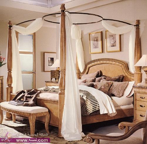 Bed016 | مجلة لمسة الفنية ديكورات غرف نوم فخمه 2014 ديكورات رايقه