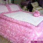 اجدد مفارش السرير للعروسة 2014