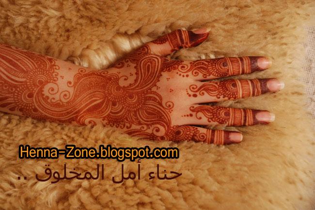 Henna zone 5032 حناء كفوف واصابع رهيب جدا 2014 خليجي وهندي