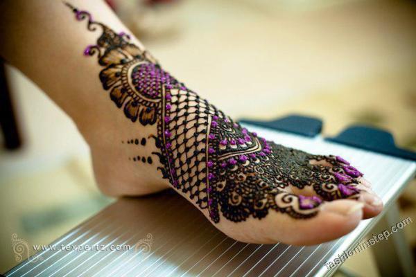 Latest Fashion Mehndi Designs 2012 For Brides Girls j اجمل نقش للعروس مرة روعه 2014