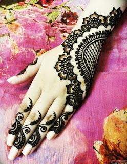 Latest Indian Mehndi Designs 2012 1