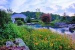 صور لحدائق المنزل مناظر مريحة وهادئة 2014