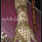 نقش حناء خليجي بحريني انيق جدا للعروس وللعيد  نقوش حناء بسيطة و انيقة  2014